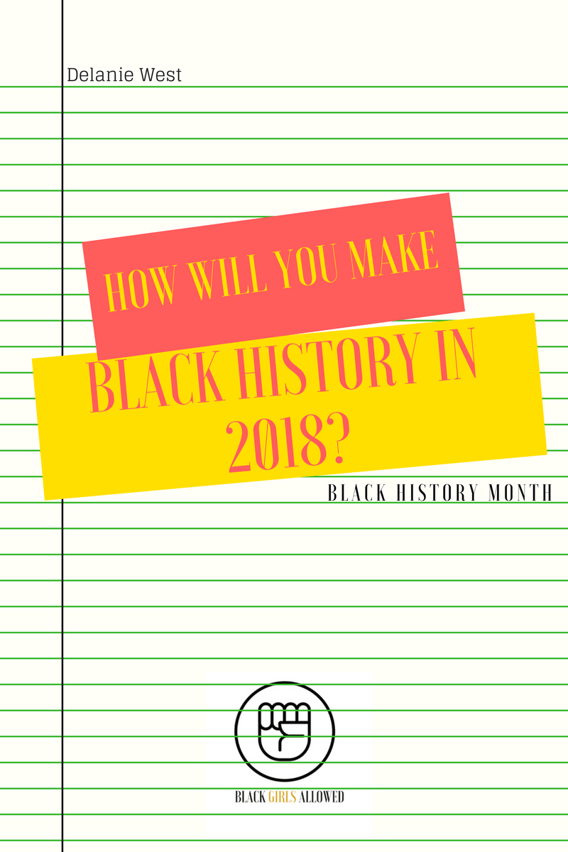 Delanie West: Making Black History at BeSuperCreative.com